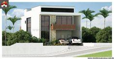 Planta de Sobrado - 3 Quartos - 207.68m² - Monte Sua Casa