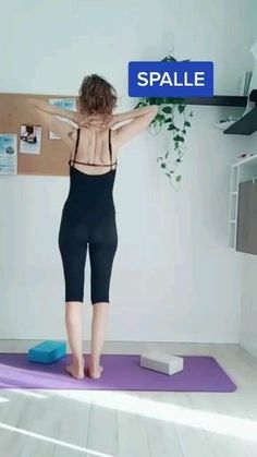 Fitness Workout For Women, Yoga Fitness, Shoulder Posture, Lose Tummy Fat, Back Fat Workout, Body Challenge, Back Exercises, Fat To Fit, Fitness Motivation Quotes