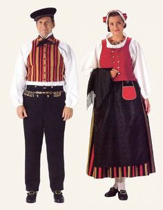... Costume - West Finnish and Karelian costumes | National Costumes