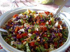 ΠΟΛΙΤΙΚΗ ΣΑΛΑΤΑ – Koykoycook Salad Recipes, Potato Salad, Cooking Recipes, Lunch, Breakfast, Bbq Food, Ethnic Recipes, Desserts, Ideas