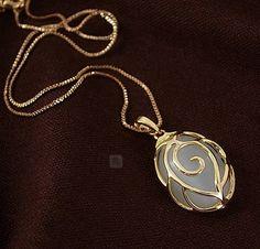 Pin by sang ji sung on my wish list Opal Necklace, Pendant Necklace, Fashion Necklace, Fashion Jewelry, Korean Accessories, Korean Jewelry, Very Lovely, Korean Fashion, Fashion Women