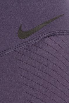 Nike - Zonal Strength Training Textured Dri-fit Stretch Leggings - Dark purple - x small