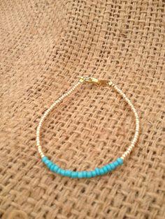 Friendship bracelet . $12.00, via Etsy.