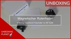 Magnetischer Rutenhalter von New Direction Tackle - Unboxing Planet Video News, Videos, Planets, Fishing, Hang In There, Video Clip