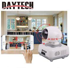 Daytech Wifi IP Camera 720P Wi-fi Security Camera Wireless Two Way Audio Night Vision Infrared IR-Cut Night Vision