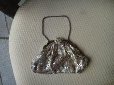 vintage whiting & davis silvertone mesh purse by MilliesAttique