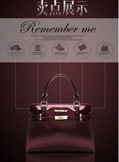 4649c6b56318 Aliexpress.com   Buy 2016 new hot women fashion designer handbags quality  patent leather shoulder