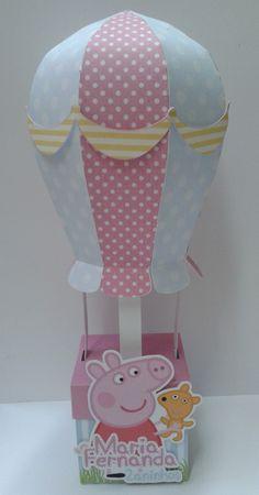 Caixa Balão Peppa Pig002   M & A - Mimos Personalizados   Elo7