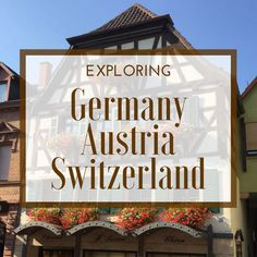 Travel to Germany, Austria & Switzerland: 3 countries that share a language, but are still ruggedly individual. Traditional Alpine villages are balanced with uber-hip Berlin and sophisticated Vienna and Geneva. So fascinating!