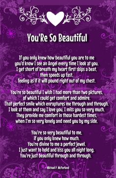 your so beautiful letters