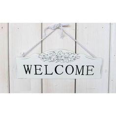 Dřevěná cedule welcome Signs, Home Decor, Decoration Home, Room Decor, Shop Signs, Home Interior Design, Sign, Home Decoration, Interior Design