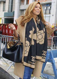 Wendy Williams Fendi Peek-a-boo bag