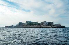 Ilhas Abandonadas   Hashima (Ilha do Encouraçado), Japão
