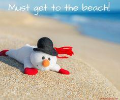 must get to the beach Beach Bum, Ocean Beach, Summer Beach, Summer Fun, Vero Beach, Ocean Quotes, Beach Quotes, I Love The Beach, Beach Christmas