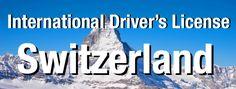 International Driver's License in Switzerland