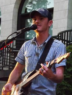 Tobias Freeman from the band Backroad Anthem