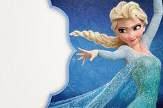 Convites do tema Frozen para imprimir - Dicas pra Mamãe