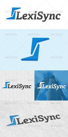LexiSync Logo Template