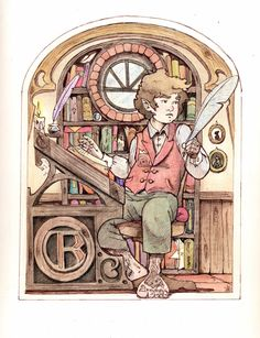 KatyChamberChorus - worldoftolkien:   Collecting memories, Bilbo by...