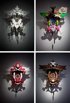 Someday i need one of Stefan Strumbler's cuckoo clocks.