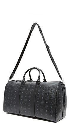 8b4fffebb2 MCM Visetos Large Duffel Bag black. gift ideas for hi