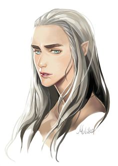 sigun-i-loki:Thranduil by moliko. Not properly sourced. Any info welcome!
