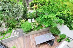 Surélever la végétation - Une terrasse à Londres