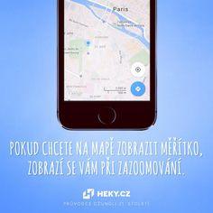 Používáte v mobilu mapy a nevíte, kde najít měřítko? Mobiles, Electronics, Phone, Telephone, Mobile Phones, Consumer Electronics