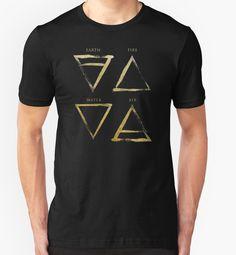 """Elements Symbols - Gold Edition"" T-Shirts & Hoodies by Lidra   Redbubble"