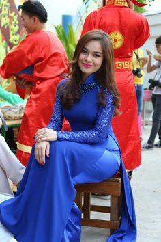 """Muôn kiểu chọn áo dài mặc Tết cho bạn trẻ từ """"kinh nghiệm"""" của mỹ nhân Việt - Kenh14.vn"""