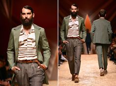 Missoni takes inspiration from West Africa, its colours, weaves and accents for its Men's collection