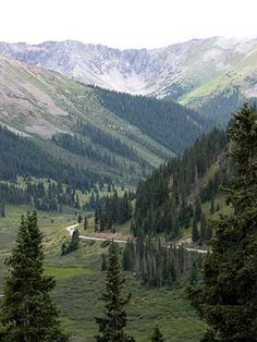 Independence Pass, Colorado- scariest drive of my life. Been There, Didn't Love it, to be clear. lol
