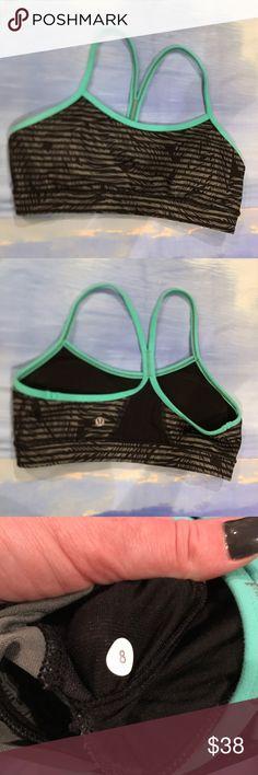 nwot lululemon size 8 bra Power bra... never used. NWOT. Size 8. Perfect addition to your workout wardrobe. lululemon athletica Intimates & Sleepwear Bras