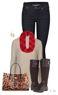 """""""This Look!...."""" by ksims-1 ❤ liked on Polyvore featuring Citizens of Humanity, Topshop, Furla, LifeStride, Eugenia Kim and Lulu*s"""