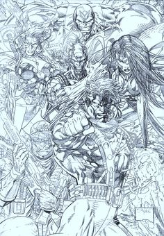 Wild CATS by Jim Lee ... Classic!
