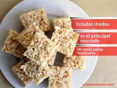 Estados Unidos es el principal mercado de arroz palay mexicano. SAGARPA SAGARPAMX #SomosProductores