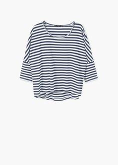 T-shirt coton | MANGO