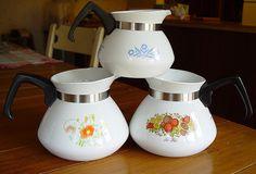 Corningware tea pots