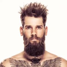 Beard and Hairstyle New Hair Cut new haircut video man Beard Styles For Men, Hair And Beard Styles, Short Hair Styles, Popular Haircuts, Haircuts For Men, Hairstyles Men, Hairstyles Videos, Bart Tattoo, Gents Hair Style