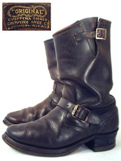 Vintage Engineer Boot
