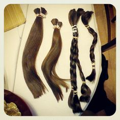 Raw hair for wig making