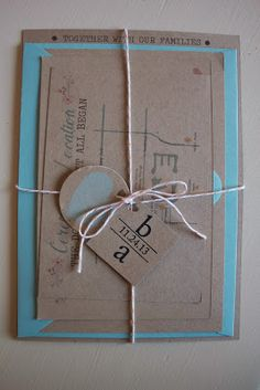 DIY Wedding Invitations #lifeinhearts