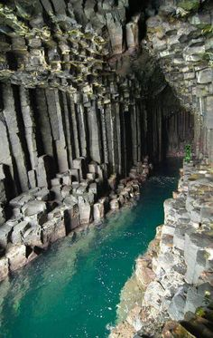 Scotland; Cave of Melody (Fingal's Cave)