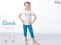 Schnittmuster Leggings Bibi von pattern4kids - Schnittmuster für Baby- und Kinderkleider als ebook download oder Papierschnitt mit Nähanleitung auf DaWanda.com