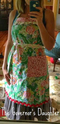 The Governor's Daughter: apron