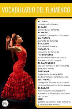 vocabulario del flamenco