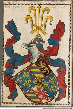 Scheibler'sches Wappenbuch Süddeutschland, um 1450 - 17. Jh. Cod.icon. 312 c  Folio 428