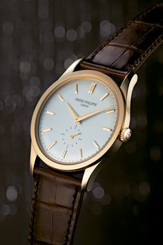 Patek Philippe Calatrava 5196  Has the dauphine hands and faceted indices of the original.