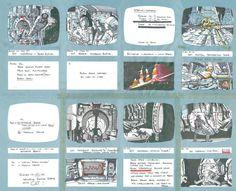 Echa un vistazo a algunos storyboards de Alien dibujados por Ridley Scott   Syfy…