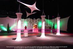 """www.chrysal-id.com 41 ème anniversaire du congrès Giphar 2009, au stade de liévin.  Le thème portait sur notre région """"Le Nord Pas de Calais"""",  les mines, le Louvre Lens, la Côte d'Opale, l'estaminet, la place du village."""